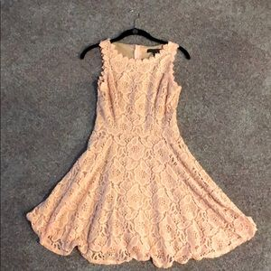 Pink lace dress! New / never worn